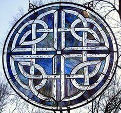 celtic glass work