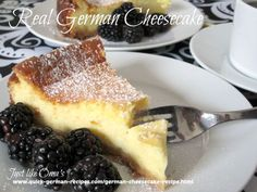 Here's an authentic German cheesecake http://www.quick-german-recipes.com/german-cheesecake-recipe.html that uses quark. Can't get quark ... make your own.