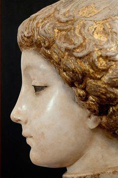 Portrait of a Young Man, Antonello Gagini, Regional Gallery of Palazzo Abatellis by Ciccio Taddeo , via Flic