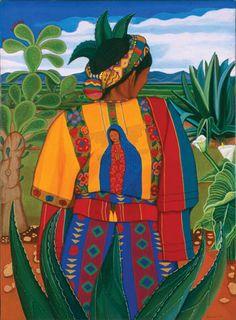Nepantla by Santa Barraza, 1995