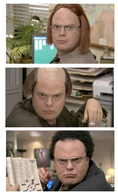 Dwight different faces hahaha