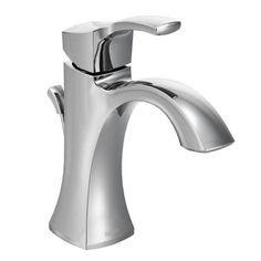 Voss chrome one-handle high arc bathroom faucet - 6903