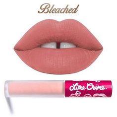 LimeCrime Velvetine in Bleached NEW! As seen in photo Lime Crime Makeup Lipstick