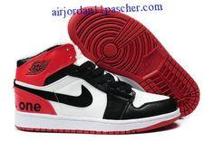 finest selection 0888d d4c18 ... where to buy air jordan 1 fluff blanc noir rouge for winter chaussures  cheap jordans jordans