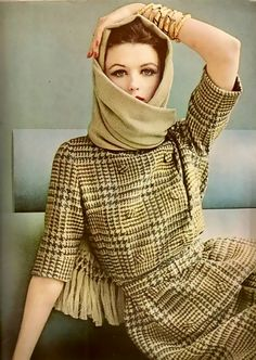 Dorothea McGowan, Vogue, 1961 #vogue #fashion #vintage
