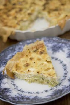 The Riddiford Baths and…Leek and Feta Quiche - Hotly Spiced