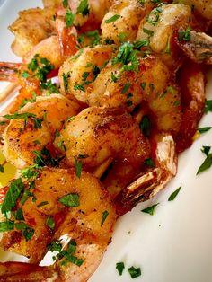 Summer Recipes, Great Recipes, Dinner Recipes, Salmon And Shrimp, Bourbon Glaze, Recipe Generator, Fruit Preserves, Shrimp Recipes Easy, Salmon Fillets
