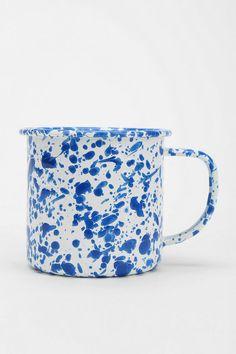 Speckled Enamelware Mug