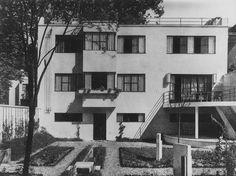 Villa Bomsel (1925) 12, rue René Aubert Versailles Architecte : André Lurçat
