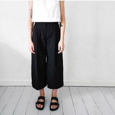 Culottes and Birkenstocks