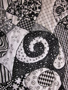 ~ Zany Quilter ~: ✿ Zentangle Quilt Tutorial