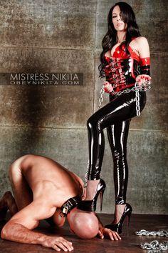 Stunning mistress Nikita