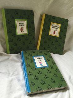 1965 Vintage The Wonderful World of Walt Disney 4 Books Box Set Golden Press | eBay