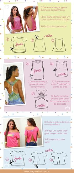 customizando look para o carnaval DIY