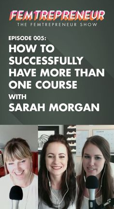 On this episode of The Femtrepreneur Show we're joined by Sarah Morgan,  blogger and online course creator at xoSarah.com. We discuss how to make  your transition from client work to course creation as easy as possible,  the true reality of running multiple online courses, outsourcing, niches,