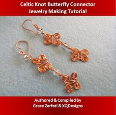 Celtic Knot Butterfly Connector free steps on the blog!