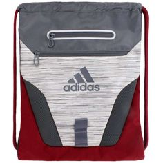 71f18c29d4 Buy adidas Rumble Sackpack Gym Sack Bookbag Gray Red online