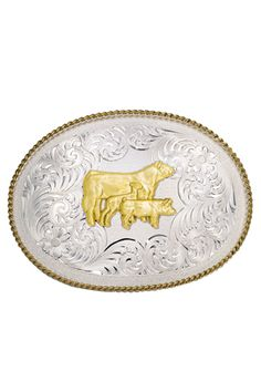 Large Oval Classic Engraved Buckle with Market Animals Figure - Western Buckles - Buckles Western Belt Buckles, Western Belts, Western Cowboy, Western Store, Corral Boots, Justin Boots, Leather Belts, Cowgirl Boots, Country Girls