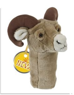 Ram Golf Club Head Cover by DGH. $26.99. Daphne's Ram is perfect for golf woods 250cc to 460cc
