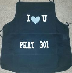 Apron I made for my pops