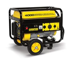 The Champion Power Equipment 46597 3500 Watt RV Ready Portable Generator with Wheel Kit is a great addition to your RV as well as a cost effective and convenient solution for power outages or other em...