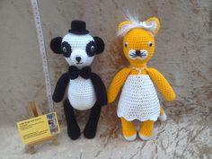 Wedding mascots wedding decorations wedding by kingsnqueenscrochet