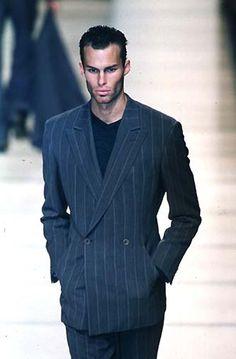 Giorgio Armani F/W 1998 Menswear Milan Fashion Week