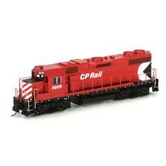 HO RTR GP38-2, CPR #3029 (ATH77150): Athearn Trains