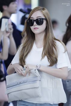SNSD Jessica airport