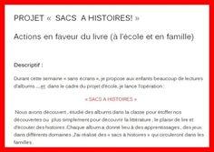 """Lancement de l'opération """"SACS A HISTOIRES"""""""