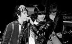 (^o^) Dee Dee Ramone and Stiv Bators at the Whisky a go go