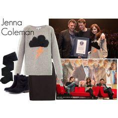 """Jenna Coleman"" by ansleyclaire on Polyvore"
