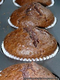 Muffinki zamieszane łyżką - proste, szybkie i smaczne!
