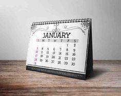 Nice 2017 Calendar CreativeWork247 - Fonts, Graphics, Themes, Templates...