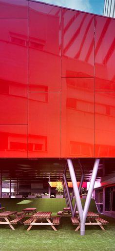 Sevilla, Spain Ampliación Hospital Virgen Macarena Área de restauración del Hospital Universitario Virgen Macarena Sol89. María González - Juanjo López de La Cruz, Silvia Escamilla, Francisco González