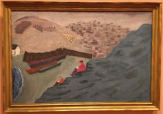 Canadian Cove 1940 by Milton Avery (Thyssen-Bornemisza Museum, Madrid Spain 12/16)