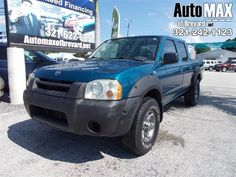 From home to the job site, this Blue 2003 Nissan Frontier 2WD XE muscles through any terrain. The durable Gas V6 3.3L/201 engine brings stump pulling torque whenever you need it. Nothing can stop you in this vehicle. It's outfitted with the following options: Variable intermittent windshield wipers, Tailgate lock, Side door guard beams, Reminders-inc: low fuel/washer fluid, fasten front seat belts, Rear window defroster, Rear wheel drive, Rear stabilizer bar, Rear seat map pockets, Rear…