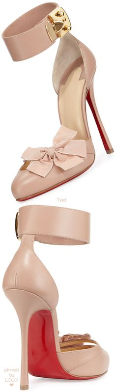 Christian Louboutin Fetish Red Sole d'Orsay Pump | LOLO❤︎