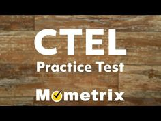 CTEL Exam Practice Test #1 Flashcards | Quizlet