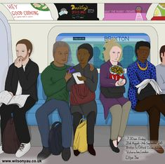 Credit card and flowers, Victoria line, London, August 2015 – Wilson Yau: I draw, teach and make stuff Friday Morning, London Underground, My Drawings, Line, 21st, Family Guy, Victoria, Teaching, How To Make