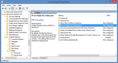 How to Outlook Reading Pane be turned off by default  If you are an Outlook account user and want to turn off the Outlook Reading Pane then, you should read this blog. Just read this blog and follow the given Instruction. In case of problems, contact us by dialling Outlook Support Australia @ 1800-817-695. http://outloook-support-australia.jigsy.com/entries/general/how-can-the-outlook-reading-pane-be-turned-off-by-default-
