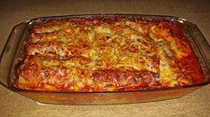 Kuche Guten Appetit: Cannelloni mit cremiger Gemüse-Käse-Füllung