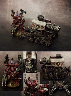Space Marine Black Templars Thunderfire Cannon