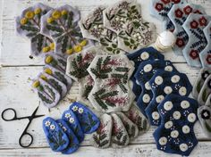 Embroidery pouch | HANDMADE WORKS | Bloglovin'