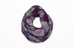 INFINITY SCARF  Screen Printed  Gray by littleminnowdesigns, $32.00