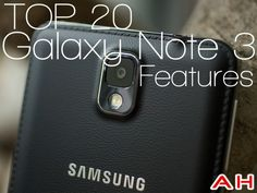 Love my new phone, now I have to learn how to use it. Top 20 Samsung Galaxy Note 3 Features