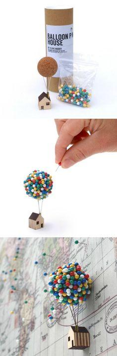 Planujesz podróże? Przygotuj swój własny balon z filmu Odlot! // http://www.ubieranki.eu/