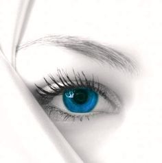 "via tumblr.."" don't you make my brown eyes blue""......remember that song? Crystal Gayle"