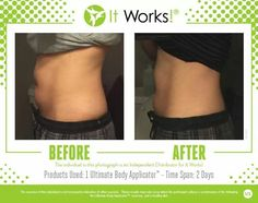 Body wraps for weight loss. Lose inches get results quickly. Get slimming effects for stomach legs loose skin and cellulite. Natural Skin Tightening, Skin Tightening Cream, It Works Wraps, My It Works, Weight Loss Wraps, Ultimate Body Applicator, It Works Products, Lose Inches, Crazy Wrap Thing