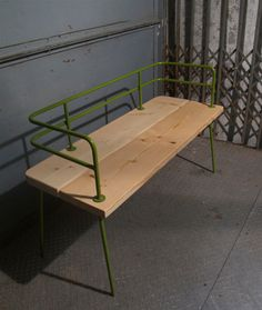 Panka - Indoor/ outdoor bench New version in different colors frame